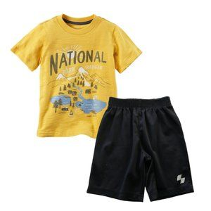 National Park Ranger Graphic Tee & Shorts